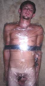 boy nude punish fetish wrapped in duct tape and plastic
